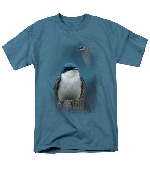 The Beautiful Tree Swallow Men's T-Shirt  (Regular Fit) by Jai Johnson