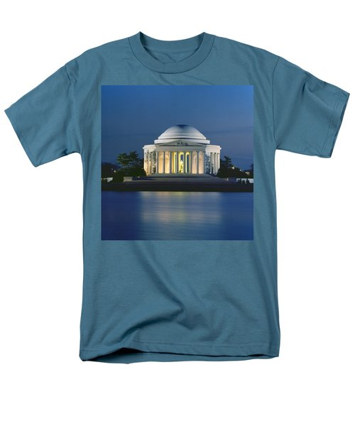 The Jefferson Memorial Men's T-Shirt  (Regular Fit) by Peter Newark American Pictures