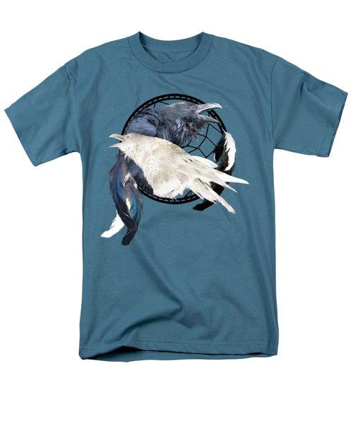 The White Raven Men's T-Shirt  (Regular Fit) by Carol Cavalaris