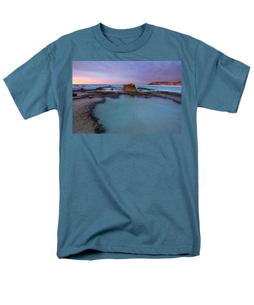 Tidepool Dawn Men's T-Shirt  (Regular Fit) by Mike  Dawson