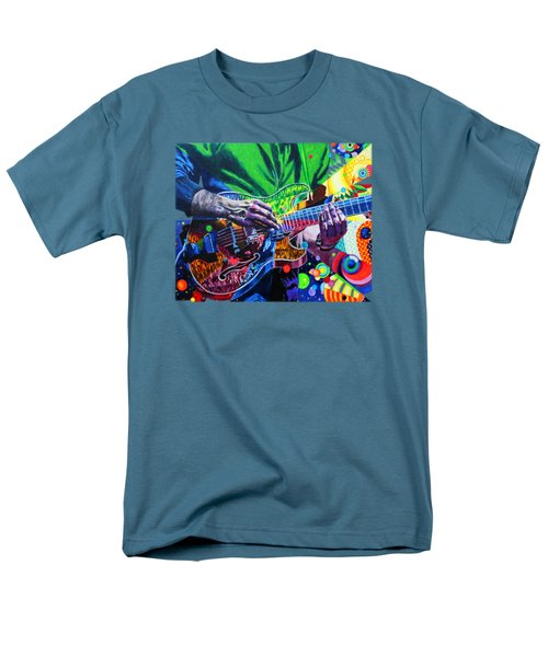 Trey Anastasio 4 Men's T-Shirt  (Regular Fit) by Kevin J Cooper Artwork