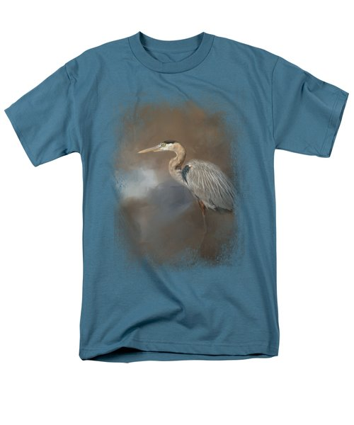 Walking Into Blue Men's T-Shirt  (Regular Fit) by Jai Johnson