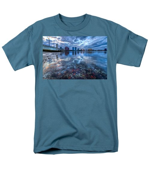 Watery Treasure T-Shirt by Debra and Dave Vanderlaan