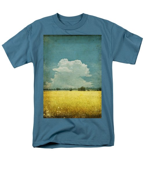 Yellow field on old grunge paper T-Shirt by Setsiri Silapasuwanchai