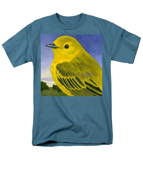 Yellow Warbler Men's T-Shirt  (Regular Fit) by Francois Girard