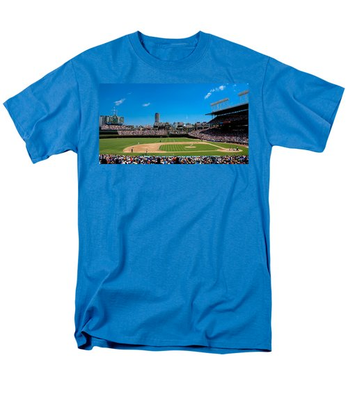Day Game At Wrigley Field Men's T-Shirt  (Regular Fit) by Anthony Doudt