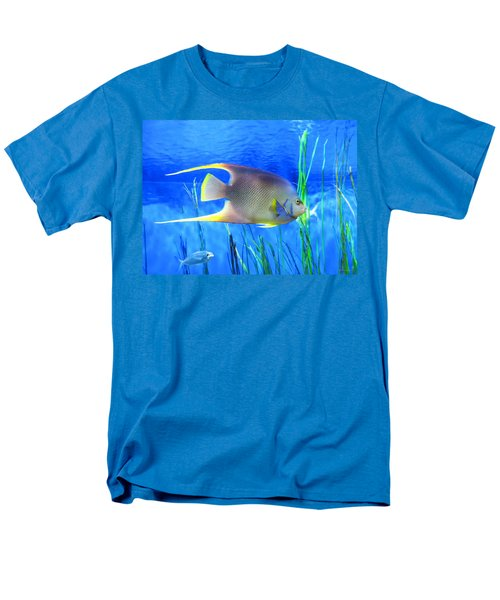 Into Blue - Tropical Fish by Sharon Cummings T-Shirt by Sharon Cummings