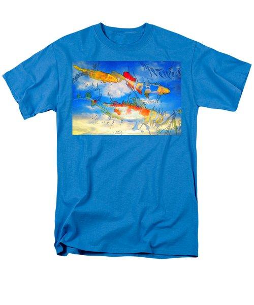 Life Is But A Dream - Koi Fish Art T-Shirt by Sharon Cummings