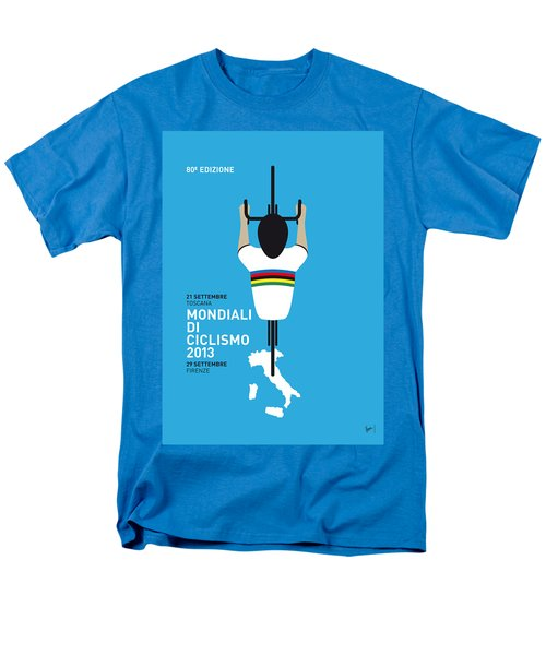 MY World Championships MINIMAL POSTER T-Shirt by Chungkong Art