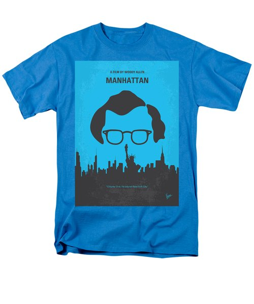 No146 My Manhattan minimal movie poster T-Shirt by Chungkong Art