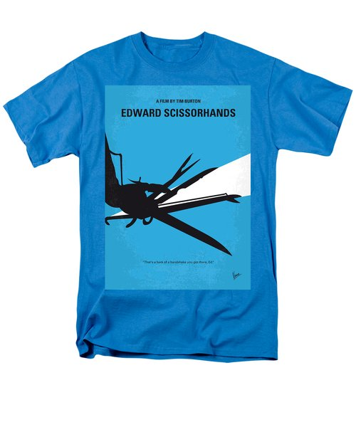 No260 My Scissorhands Minimal Movie Poster Men's T-Shirt  (Regular Fit) by Chungkong Art