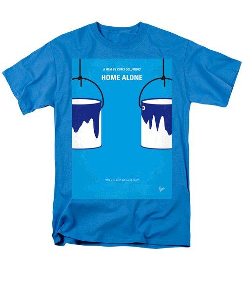 No427 My Home Alone Minimal Movie Poster Men's T-Shirt  (Regular Fit) by Chungkong Art
