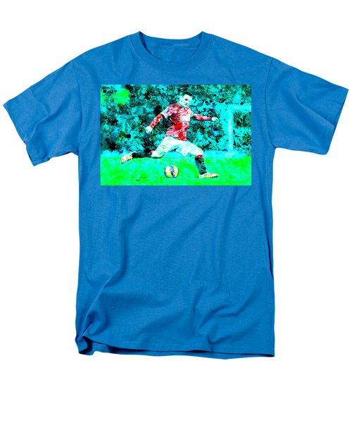 Wayne Rooney Splats Men's T-Shirt  (Regular Fit) by Brian Reaves