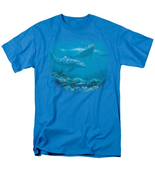 Wildlife - Bottlenosed Dolphins Men's T-Shirt  (Regular Fit) by Brand A