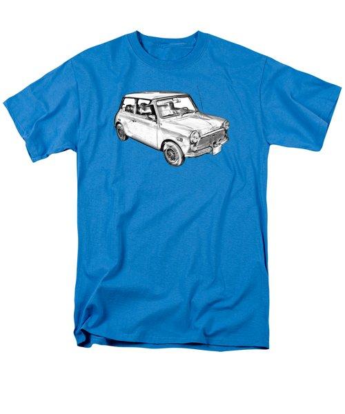 Mini Cooper Illustration Men's T-Shirt  (Regular Fit) by Keith Webber Jr