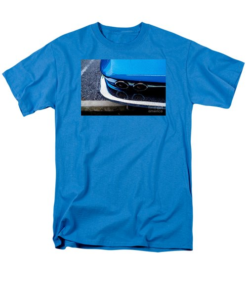 Men's T-Shirt  (Regular Fit) featuring the photograph 1965 Corvette Sting Ray by M G Whittingham