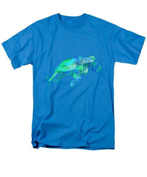 Sea Turtle Graphic Men's T-Shirt  (Regular Fit) by Chris MacDonald
