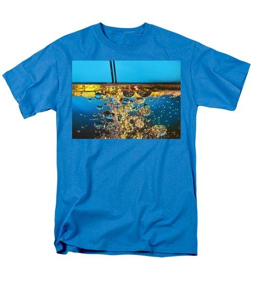 water and oil T-Shirt by Setsiri Silapasuwanchai