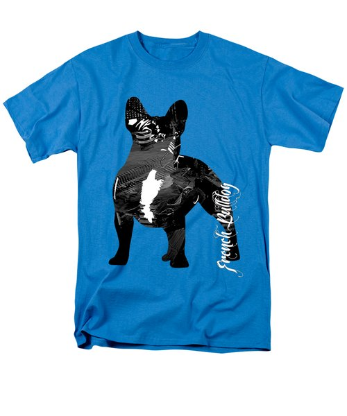 French Bulldog Collection Men's T-Shirt  (Regular Fit) by Marvin Blaine