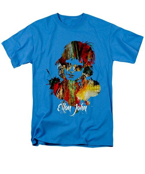 Elton John Collection Men's T-Shirt  (Regular Fit) by Marvin Blaine