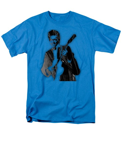 Chuck Berry Collection Men's T-Shirt  (Regular Fit) by Marvin Blaine