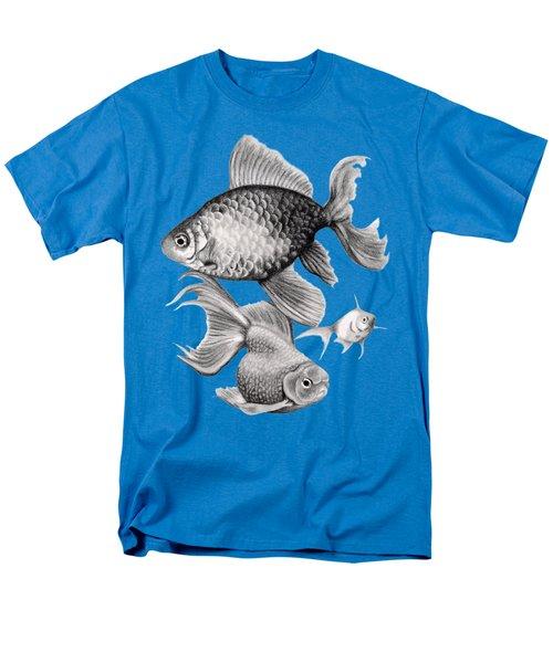 Goldfish Men's T-Shirt  (Regular Fit) by Sarah Batalka
