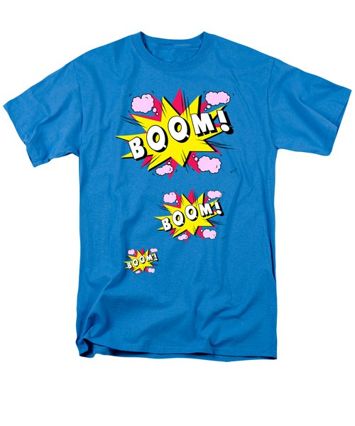 Boom Comics Men's T-Shirt  (Regular Fit) by Mark Ashkenazi