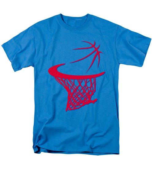 Clippers Basketball Hoop Men's T-Shirt  (Regular Fit) by Joe Hamilton