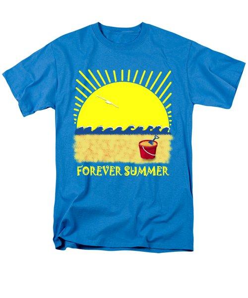 Forever Summer 8 Men's T-Shirt  (Regular Fit) by Linda Lees