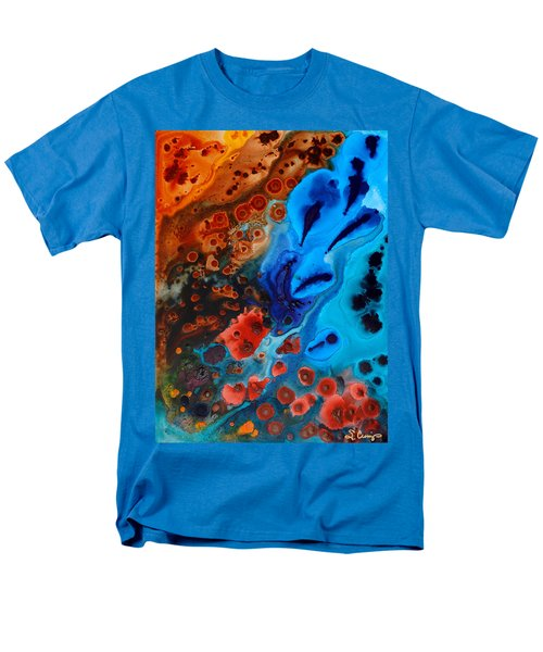 Natural Formation T-Shirt by Sharon Cummings