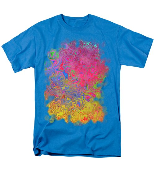 Psychedelic Laundry Transparent Design Men's T-Shirt  (Regular Fit) by Shelly Weingart