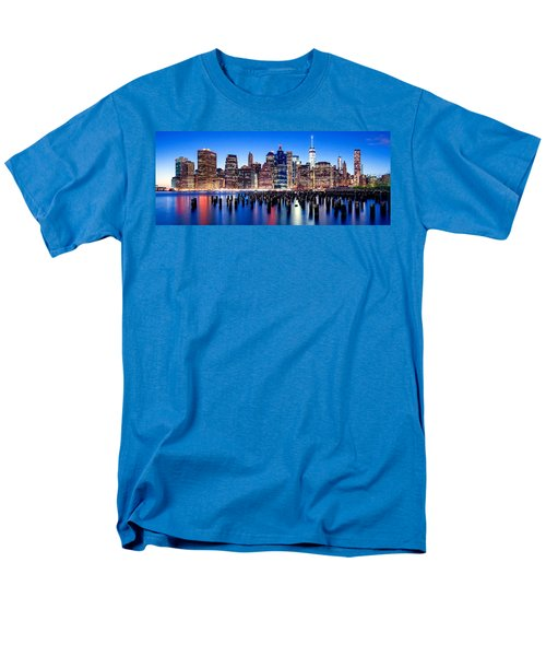 Magic Manhattan Men's T-Shirt  (Regular Fit) by Az Jackson