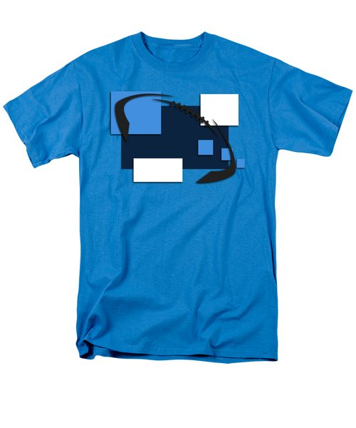 Tennessee Titans Abstract Shirt Men's T-Shirt  (Regular Fit) by Joe Hamilton