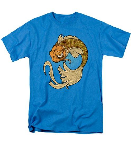 The Disgruntled Koi Men's T-Shirt  (Regular Fit) by Laz Llanes