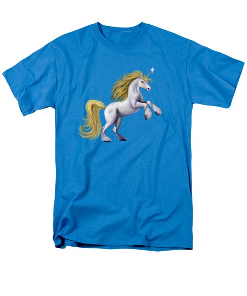 The Golden Unicorn Men's T-Shirt  (Regular Fit) by Glenn Holbrook