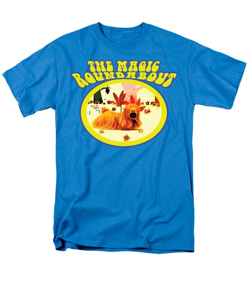 The Magic Roundabout Retro Design Hippy Design 60s And 70s Men's T-Shirt  (Regular Fit) by Paul Telling