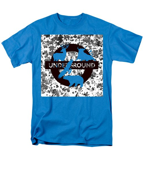 Underground.2 Men's T-Shirt  (Regular Fit) by Alberto RuiZ