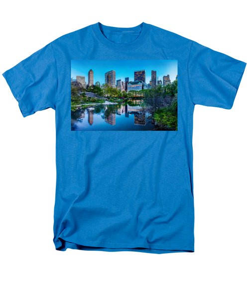 Urban Oasis Men's T-Shirt  (Regular Fit) by Az Jackson
