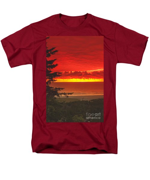 Red Pacific T-Shirt by Robert Bales