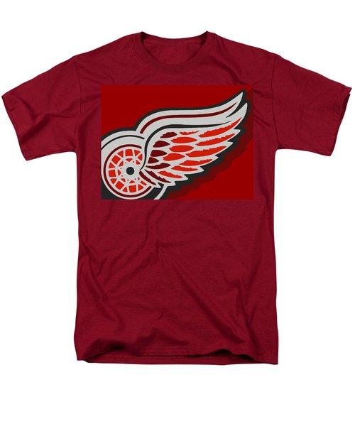 Detroit Red Wings T-Shirt by Tony Rubino