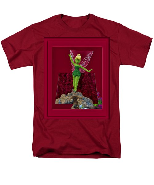 Disney Floral Tinker Bell 02 T-Shirt by Thomas Woolworth