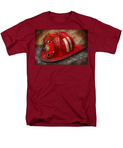 Fireman - Hat - A childhood dream T-Shirt by Mike Savad