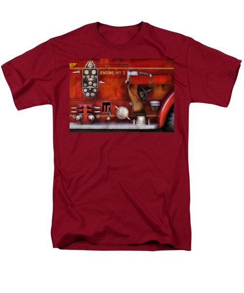 Fireman - Old Fashioned Controls T-Shirt by Mike Savad