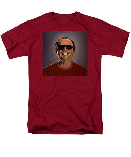 Jack Nicholson 2 Men's T-Shirt  (Regular Fit) by Paul Meijering
