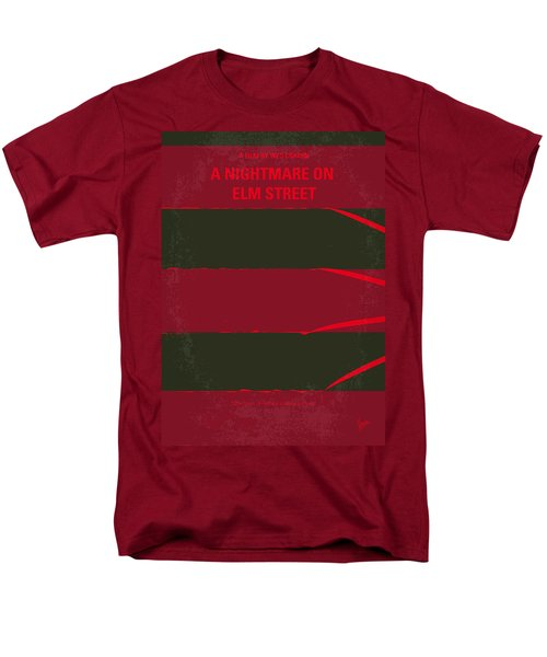 No265 My Nightmare On Elmstreet Minimal Movie Poster Men's T-Shirt  (Regular Fit) by Chungkong Art
