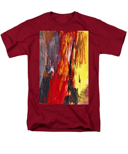 Abstract - Acrylic - Rising power T-Shirt by Mike Savad