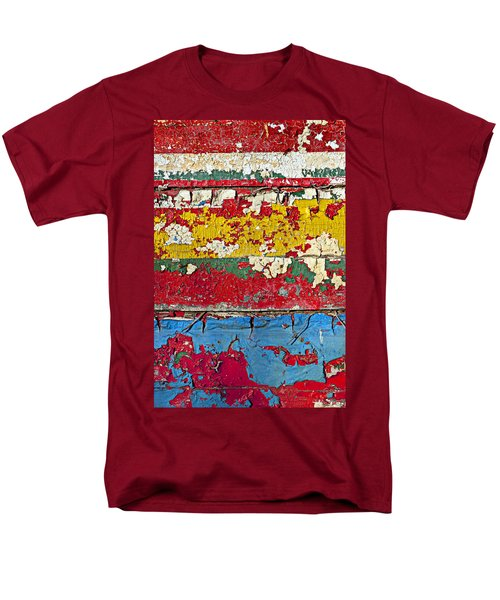 Painting peeling wall T-Shirt by Garry Gay