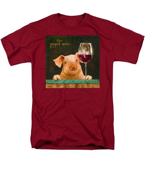 Pigot Noir... Men's T-Shirt  (Regular Fit) by Will Bullas
