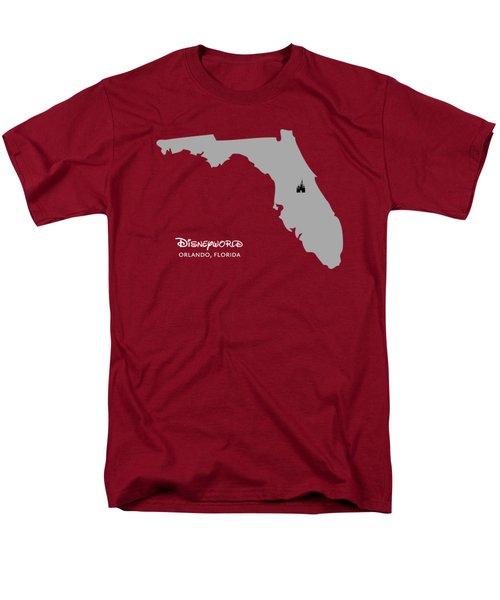 Disneyworld Men's T-Shirt  (Regular Fit) by Nancy Ingersoll