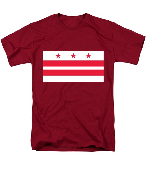 District Of Columbia Men's T-Shirt  (Regular Fit) by Frederick Holiday